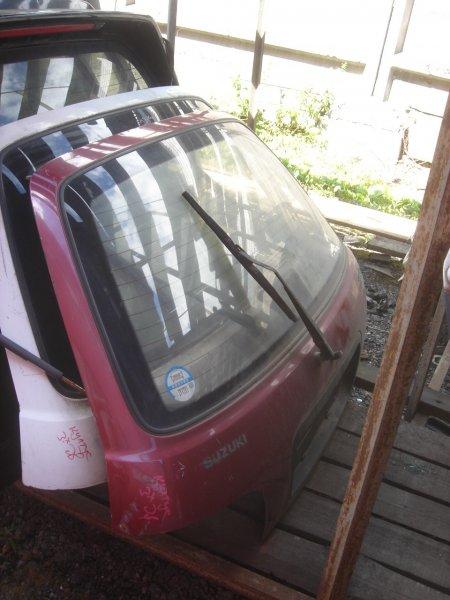 Дверь багажника задняя Cultus