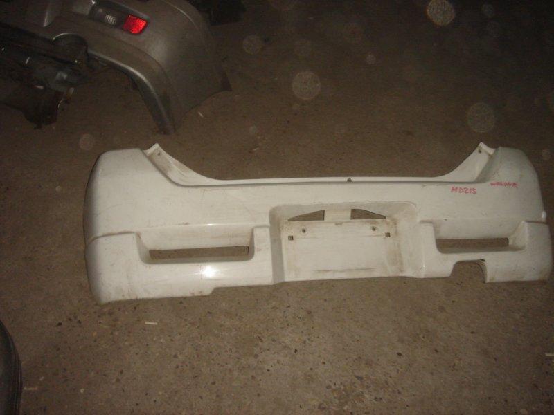 Бампер задний Suzuki Wagon R RR контрактная
