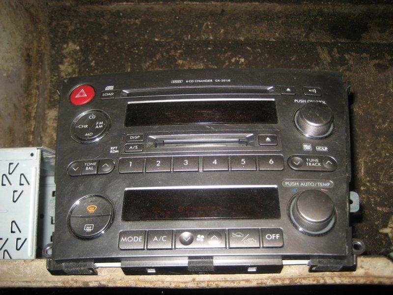 Магнитофон Subaru Legacy bl контрактная