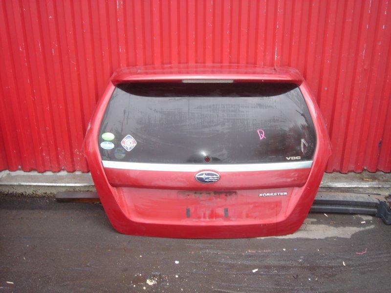 Крышка багажника задняя Subaru Forester SG контрактная