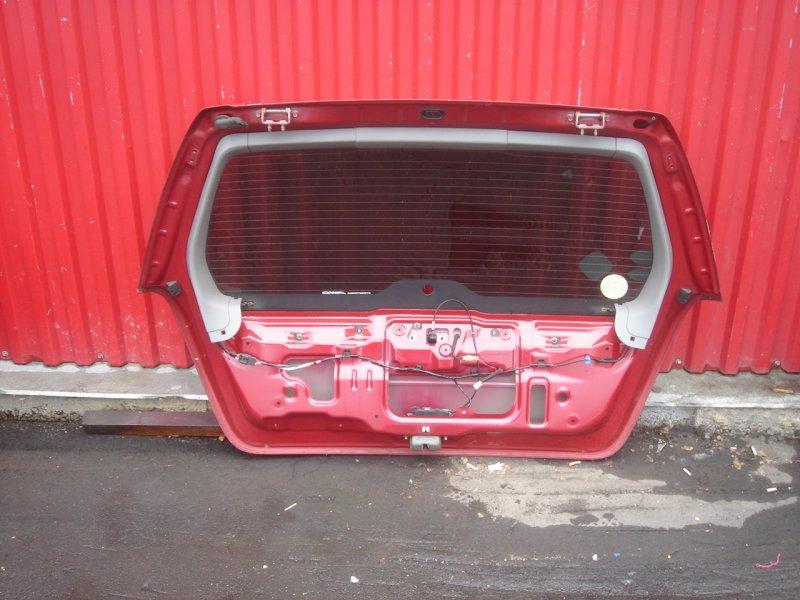 Крышка багажника задняя Forester SG