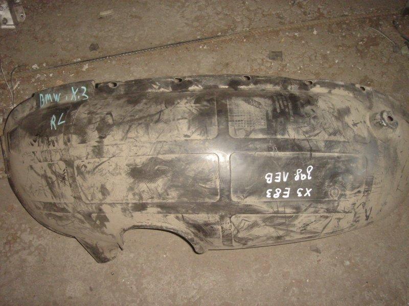Подкрылок задний X3 2005 E83 N54B25