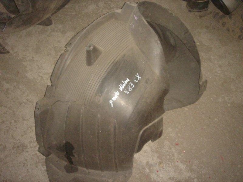 Подкрылок передний X3 2005 E83 N54B25