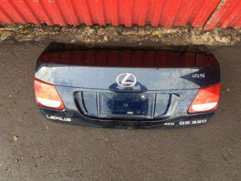 Крышка багажника Lexus GS350 контрактная