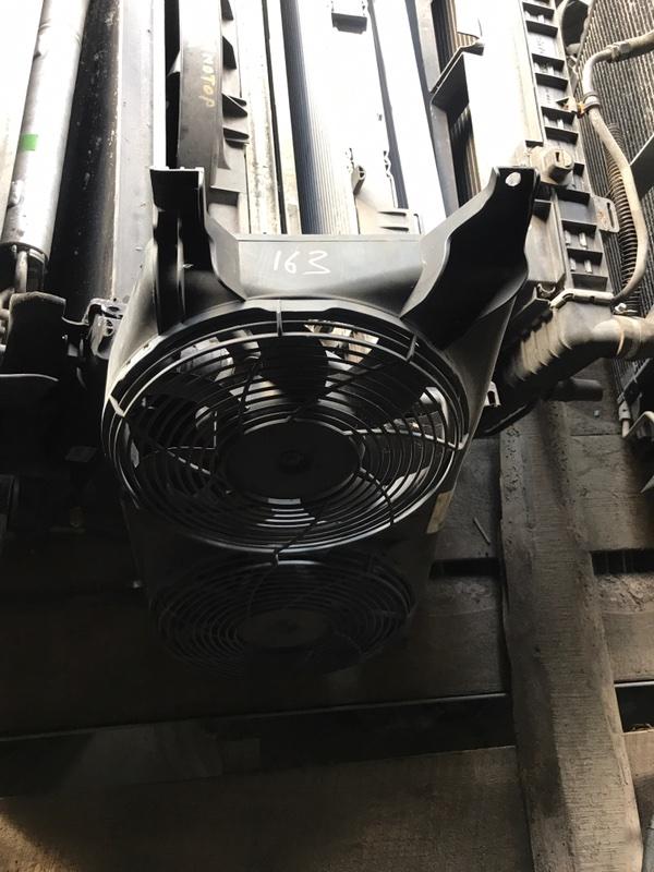 Вентилятор радиатора Mercedes-Benz M 2001 W163 контрактная