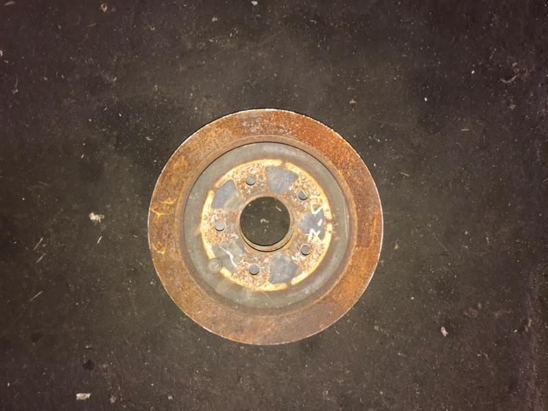 Тормозной диск задний Nissan Murano 2011 Z51 VQ35 контрактная