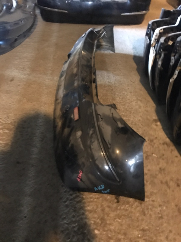 Бампер задний Mercedes-Benz A 2000 W168 контрактная