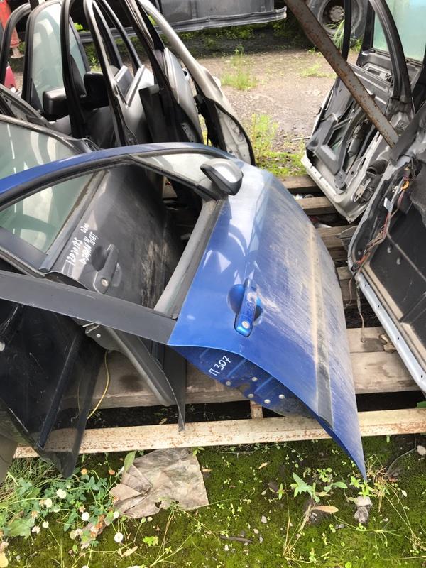 Дверь передняя Peugeot 307 2005 3A/C контрактная