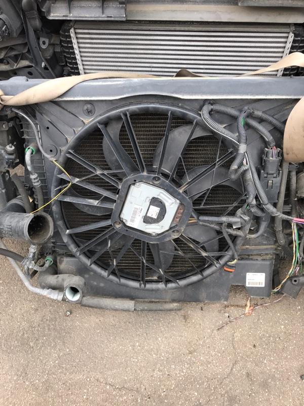Вентилятор радиатора Volvo XC90 2006 C_98 контрактная