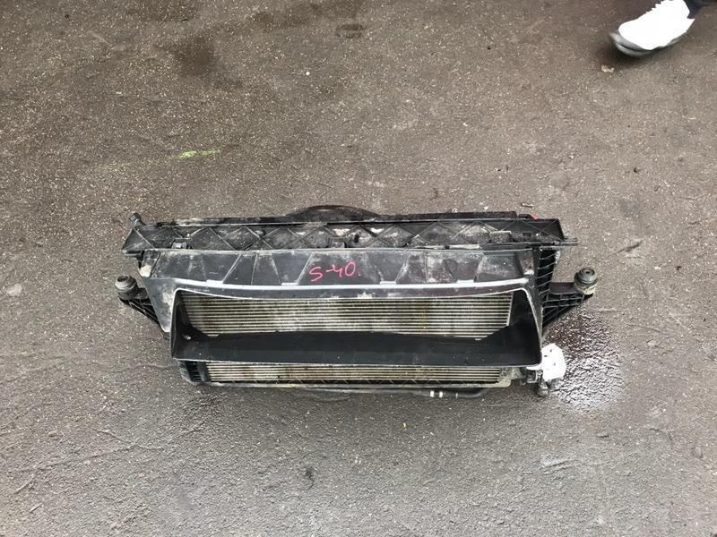 Радиатор ДВС Volvo S40 2004 MS21 контрактная