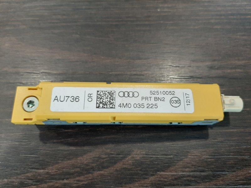 Усилитель разнесенной антенны Audi Q7 2016 4M 3.0 CRT 4M0035225 контрактная