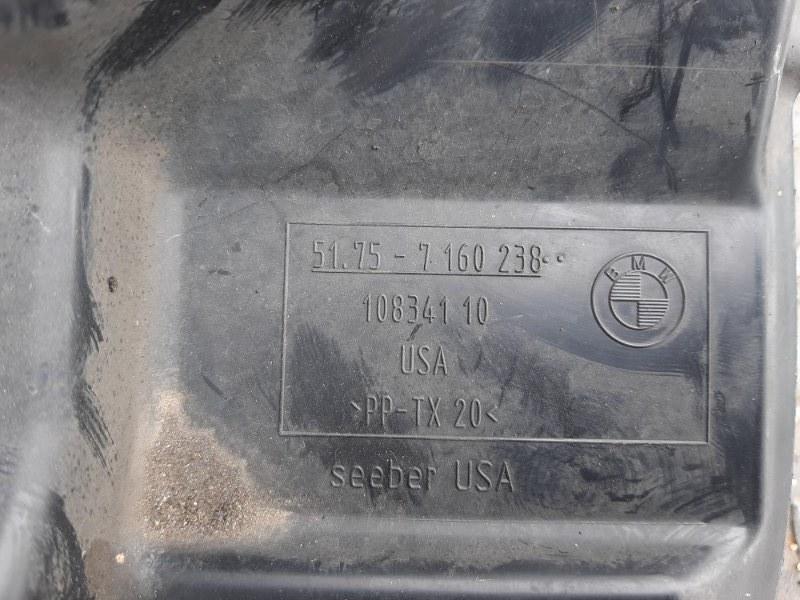 Кожух рулевого механизма правый BMW X6 F16 4.0 N57D30B