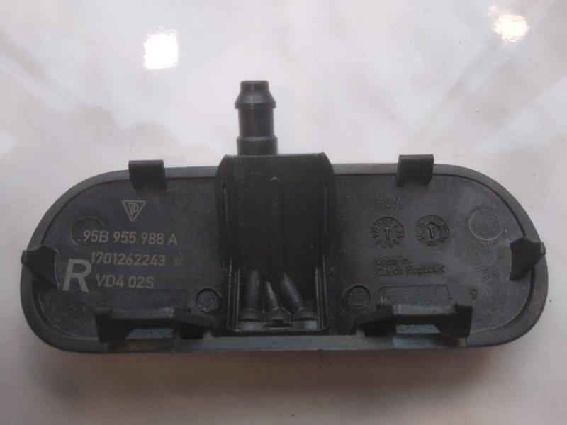 Форсунка омывателя стекла передняя правая Macan 2013- 95B 3.0 TDI
