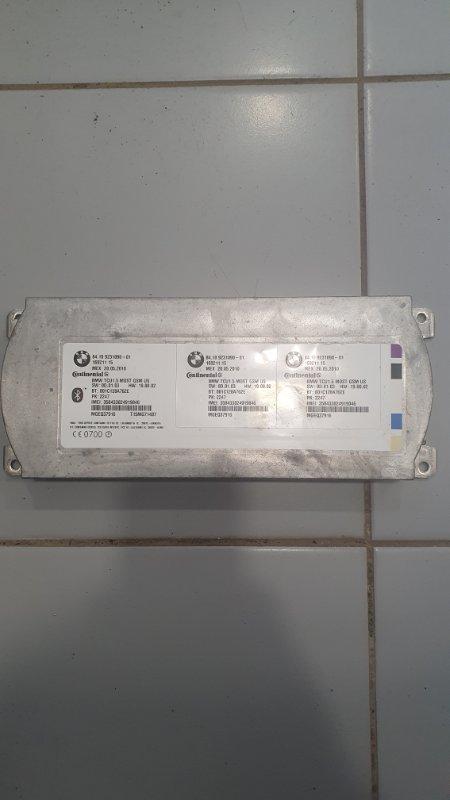 Возвратный Telematics Control Unit BMW X5 2007-2013 E70 84109231093 контрактная
