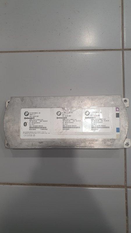Возвратный Telematics Control Unit BMW X5 2007-2013 E70 84109206778 контрактная