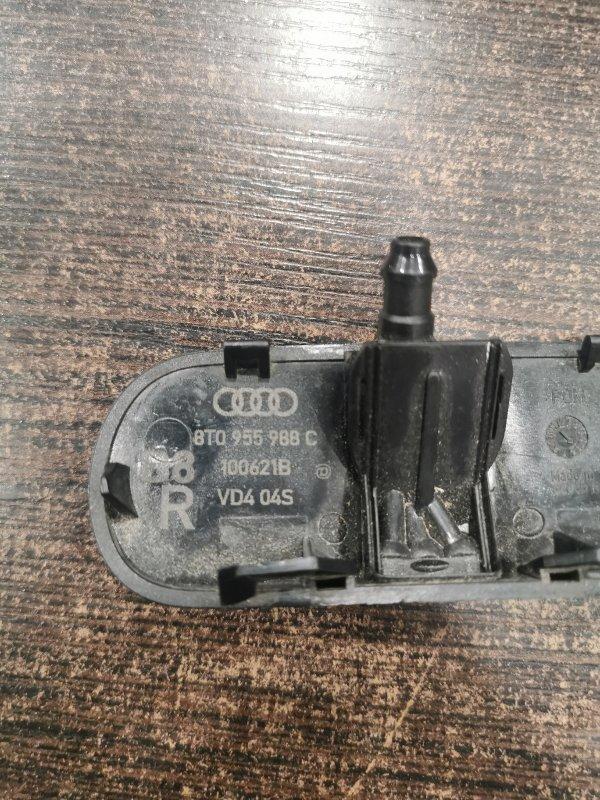 Форсунка омывателя стекла правая Audi A4 8K