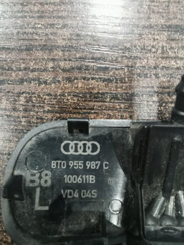 Форсунка омывателя стекла левая Audi A4 8K