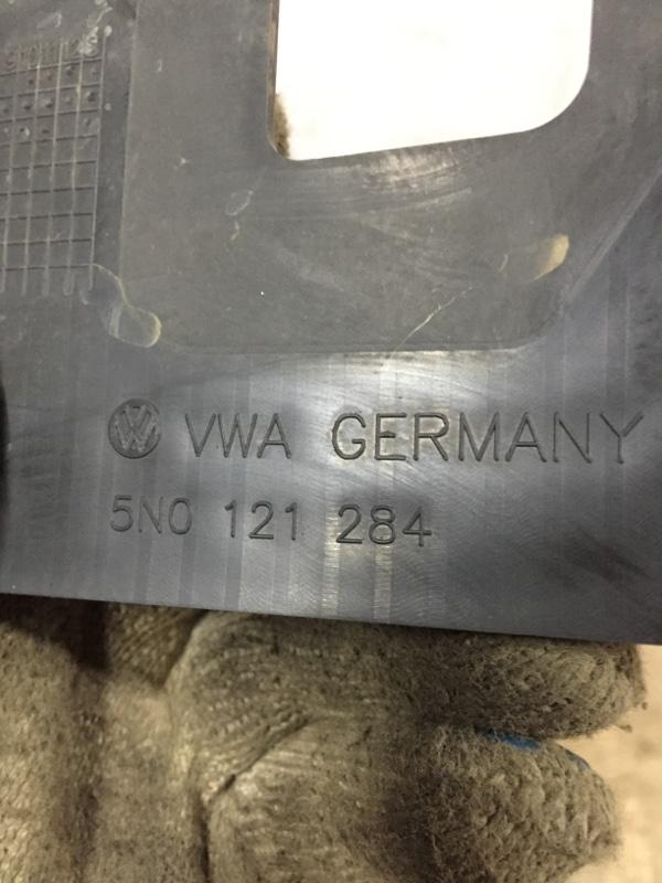 Дефлектор радиатора передний правый Volkswagen Tiguan 5N 2.0 T CAWA