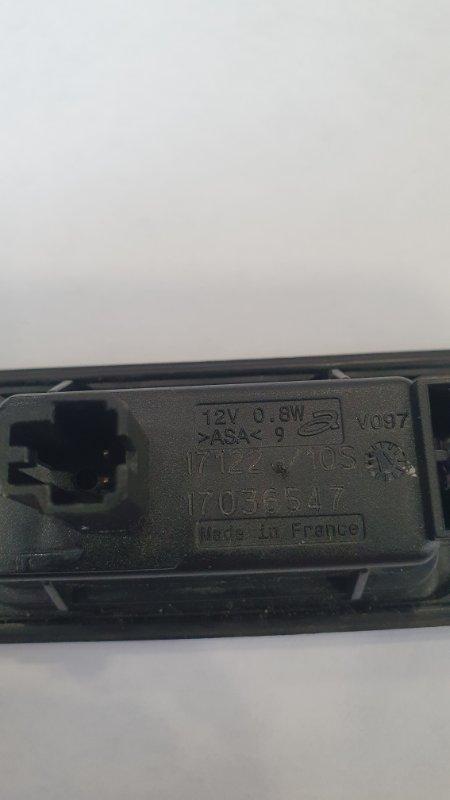 Фонарь подсветки номерного знака Volkswagen Tiguan 5N