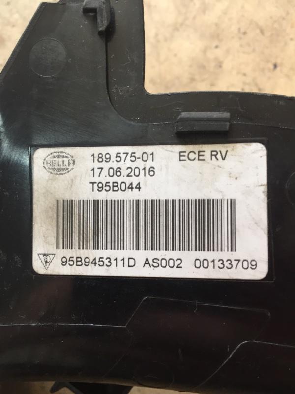 Крышка фонаря Porsche Macan 95B 3.0 TDI