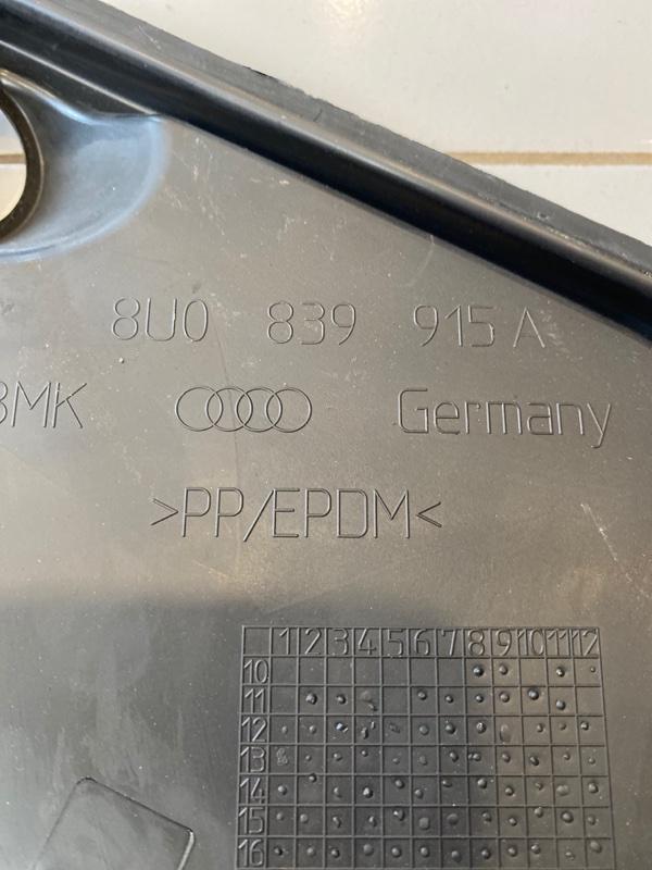 Заглушка двери задняя левая Audi Q3 8U 2.0 CFG Дизель