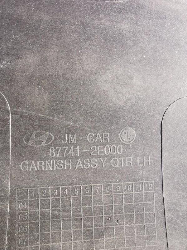 Расширитель арки задний левый Hyundai Tucson JM 2.0