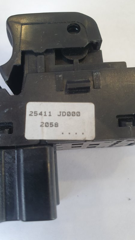 Кнопка стеклоподъемника Qashqai+2 2010 JJ10E 2.0