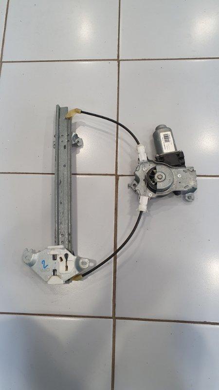Стеклоподъемник задний правый Nissan Qashqai+2 2010 JJ10E 2.0 82700EY10A контрактная