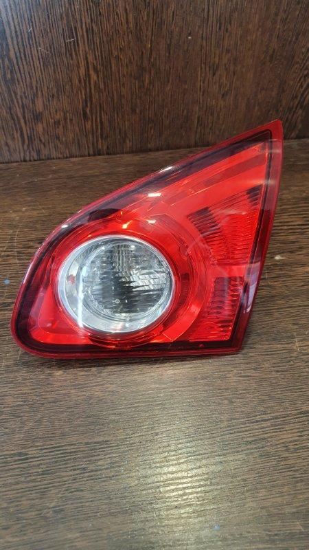 Фонарь задний правый Nissan Qashqai+2 2010 JJ10E 2.0 26550JD800 контрактная