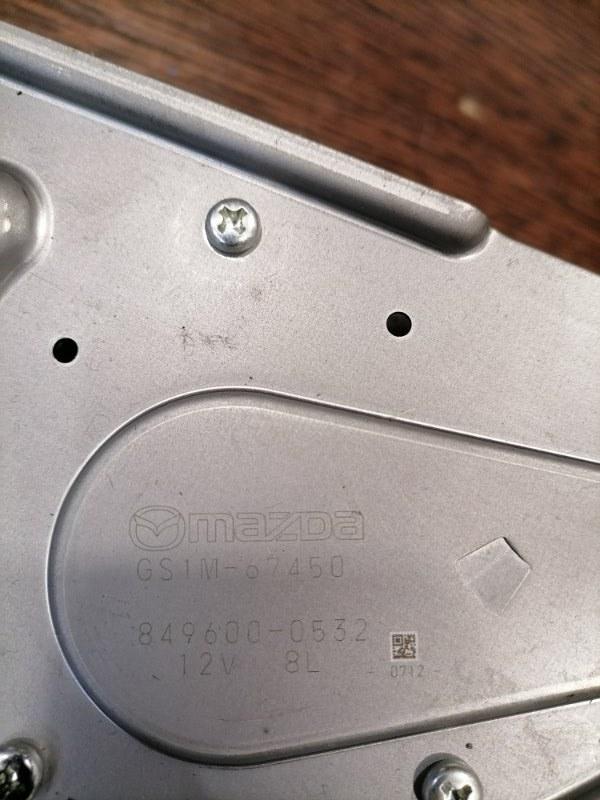 Моторчик заднего дворника Mazda6 2010 GH