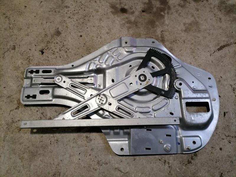 Стеклоподъемник передний левый Hyundai Tucson 2010 JM 2.0 824702E010 контрактная