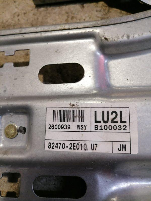 Стеклоподъемник передний левый Hyundai Tucson JM 2.0