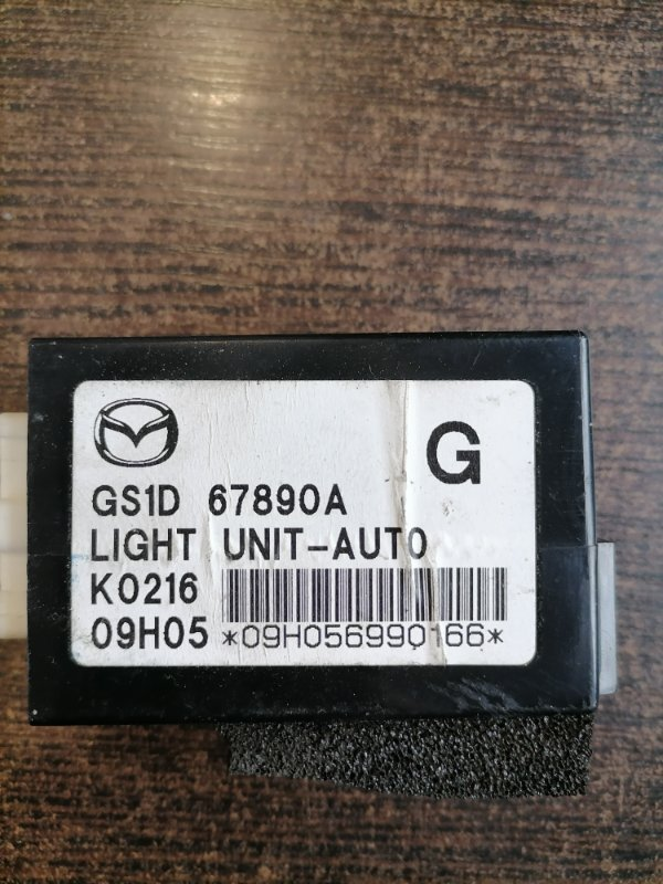 Блок управления освещением Mazda Mazda6 GH