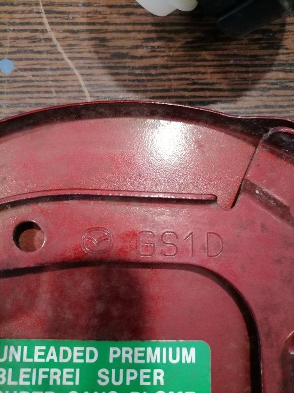Крышка лючка бензобака Mazda Mazda6 GH