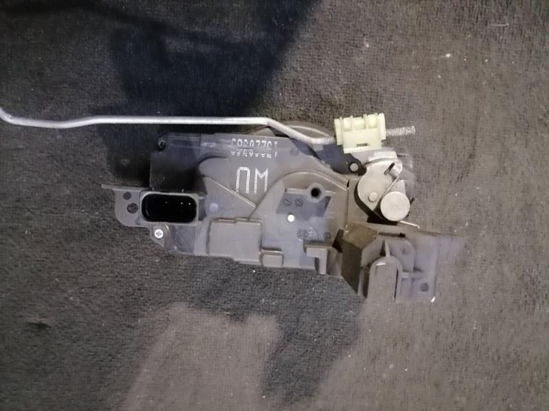 Замок двери передний левый Opel Zafira 2005-2015 B 1.6 13220369 контрактная