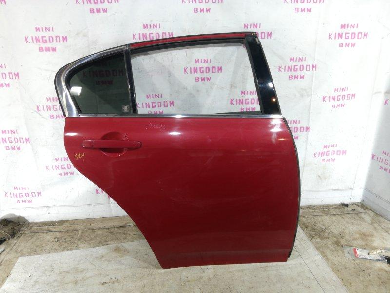 Дверь задняя правая Infiniti G35 V36 VQ35HR H2100JK0MM контрактная