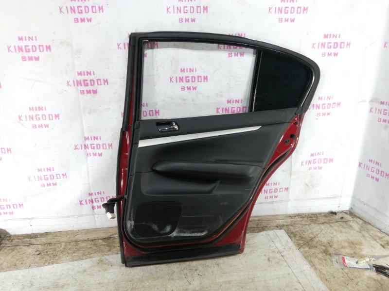 Дверь задняя правая G35 V36 VQ35HR