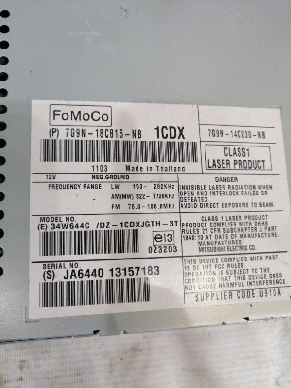 CD-чейнджер XF 2011 cc9 AJ30