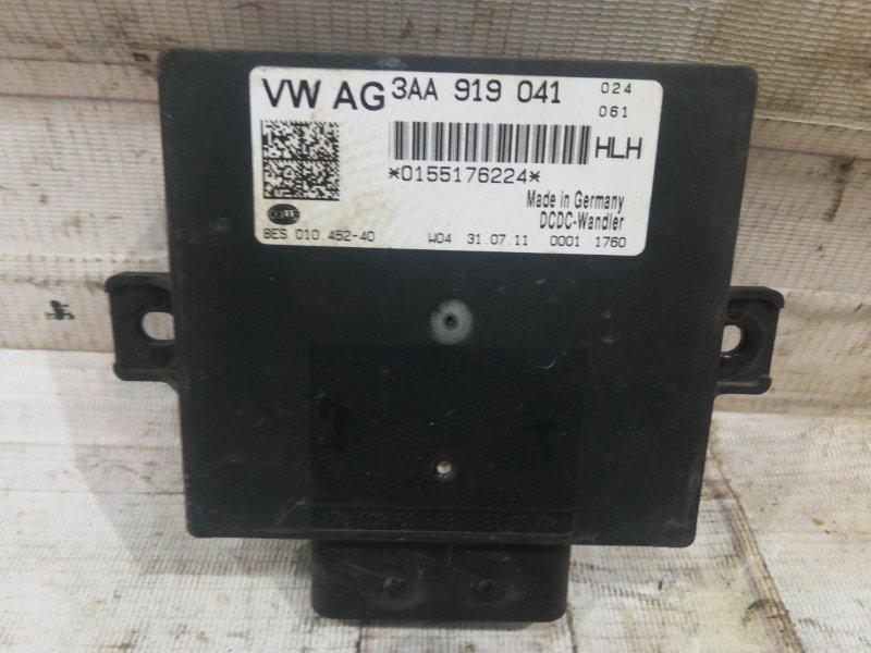 Стабилизатор напряжения Volkswagen passat 2012 B7 variant 1.4 3aa919041 контрактная