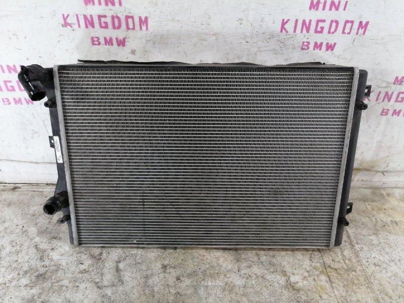 Радиатор двигателя Volkswagen passat 2009 b6 variant BZB 1K0121253AA контрактная