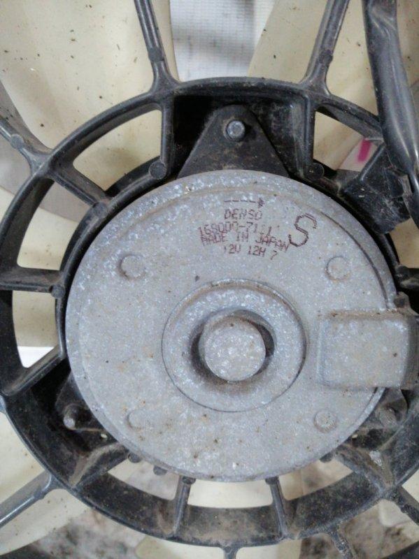 Вентилятор радиатора кондиционера правый accord 7 k24a