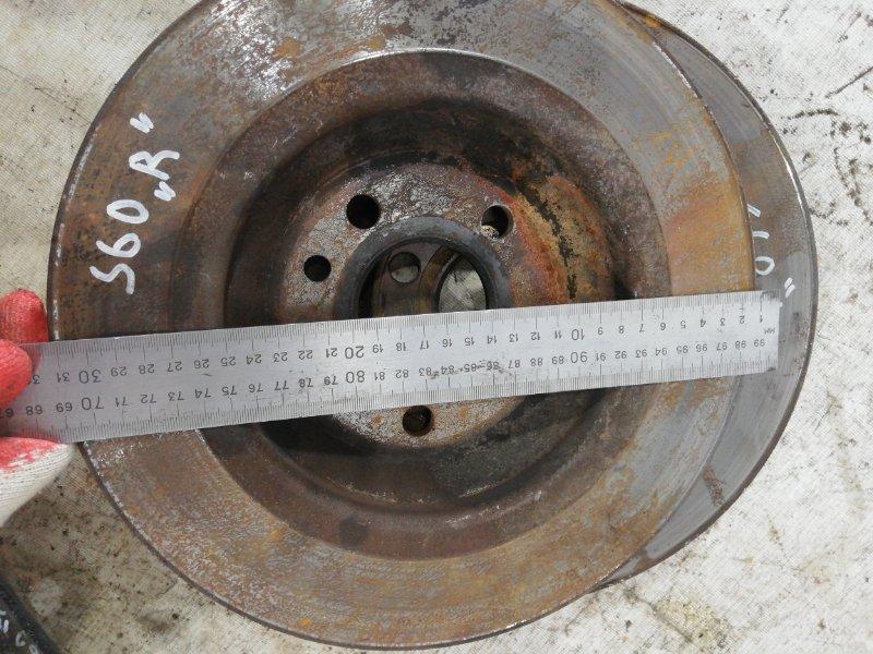 Тормозной диск задний S60 2011 Y20 B4164T