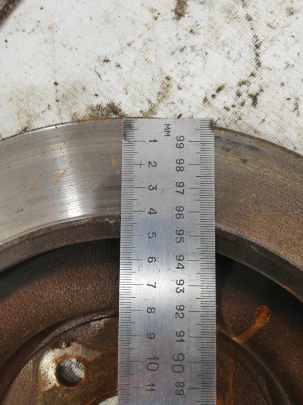 Тормозной диск задний XF 2011 cc9 AJ30