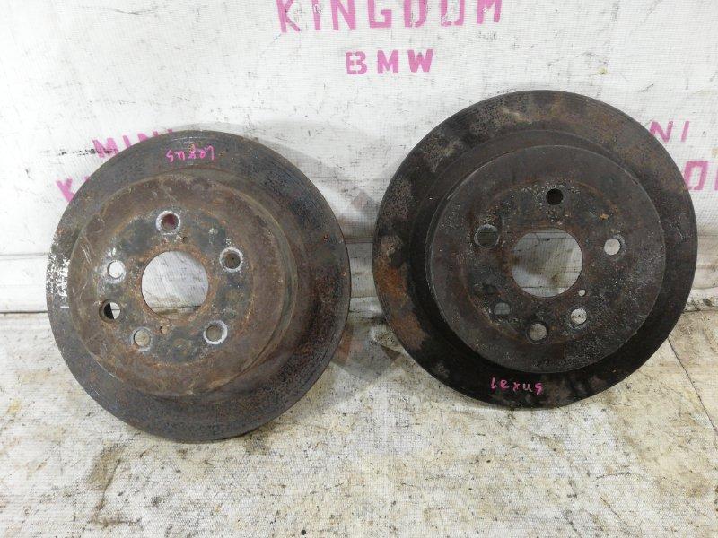 Тормозной диск задний Lexus GS450H S190 2GR-FSE 4243130290 контрактная