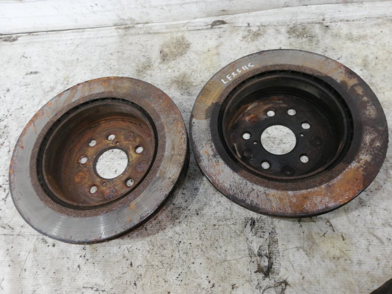 Тормозной диск задний GS450H S190 2GR-FSE
