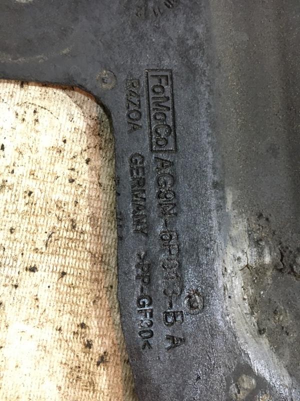Защита двигателя S60 2011 Y20 B4164T