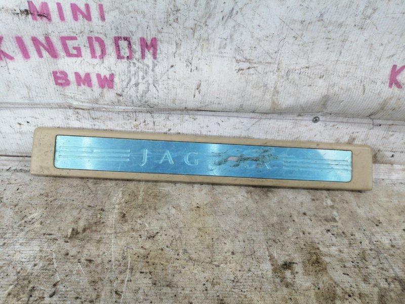 Накладка на порог правая jaguar XF 2011 cc9 AJ30 8X2313200AF контрактная
