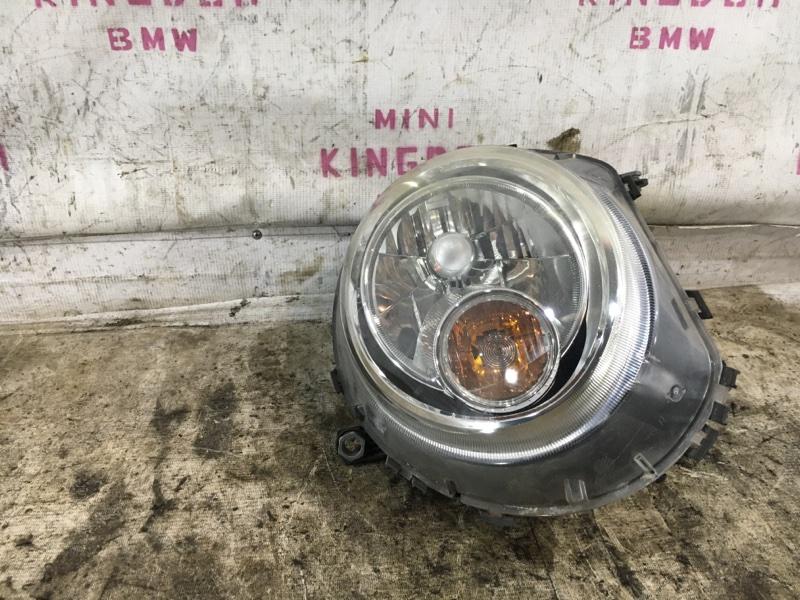 Фара передняя правая MINI Cooper R56 63122751266 контрактная