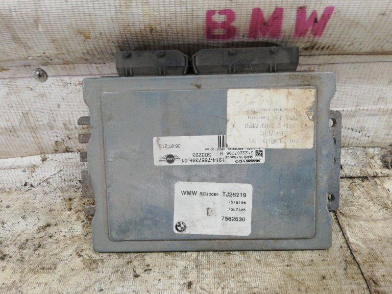 Блок управления двигателем MINI Cooper R50 12147557395 контрактная