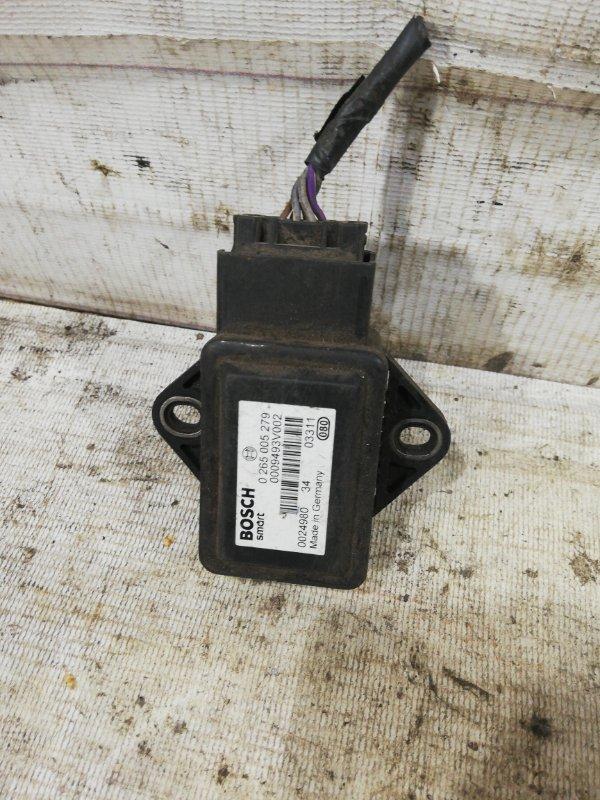 Датчик ускорения Smart Fortwo W450 0265005279 контрактная